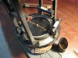 Antique Keuffel & Esser Co. Arpentage Transit P5137s Avec La Boîte D'origine