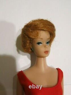 Barbie Poupée Redhead Bubble Cut Rare American Girl Transitional #850 En Boîte