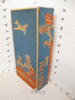 Boîte De Bonbons Pilote Pal Années 1930 Pilotes D'avion De L'aviation D'affichage Magasin Vintage