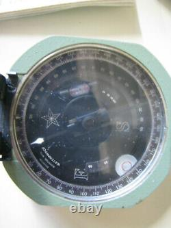 Brunton Pocket Transit / Compass Dans Boîte D'origine