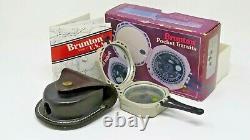 Brunton Pocket Transit Pro Compass Avec Boîte D'origine, Boîtier 0-360 Degrés 5008