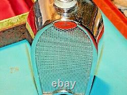 Bugatti Radiateur Flask Decanter Ultra Rare C1960 Boxed Automobilia Collectable