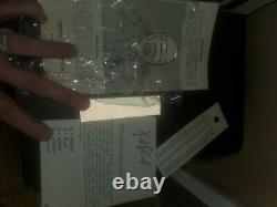 Casque Griffin Blanc Vintage Avec Écran Facial /boîte Originale
