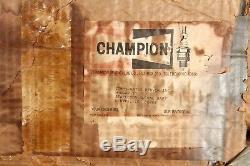 Champion Vintage Aircraft Refroidisseur D'huile Seat Boîte Ronde Originale Rare & Collectables