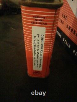 Collection D'étain Vintage Dans Retail Box Flexolite Lighter Fluid Stoke On Trent