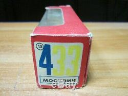 Collection Originale Box 433 Moskvitch 1977 Modèle Échelle Toy Car 143 Urss Soviétique