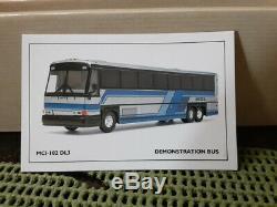 Corgi 98421 MCI 102dl3 Démonstrateur Bus 12 '' Long Nouveau Est Boite D'origine