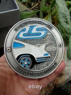 D'origine Porsche 911 Carrera Rs 2.7 1973 Set Badge! 2 Badges Nouvelles Dans Les Boîtes