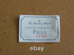 Danbury Mint Années 1950 Schwinn Black Phantom Boîte D'origine W Tous Les Documents
