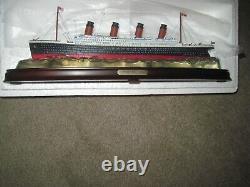 Danbury Mint La Réplique Titanic Dans La Boîte Originale, Jamais Enlevé Nouveau