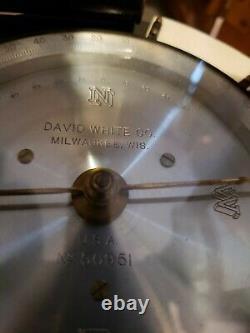 David White Antique/vintage Transit Level In Original Box