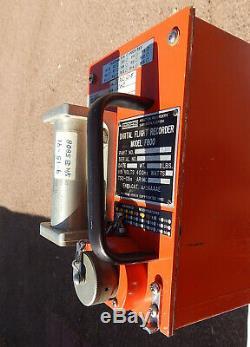 Delta Commercial Airliner Enregistreur De Données De Vol Cockpit Pilote Black Box (orange)