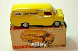 Dinky 407 Ford Transit Hertz, Vnm Dans Boîte D'origine