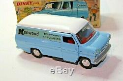 Dinky 407 Ford Transit Kenwood, Vnm Dans Boîte D'origine