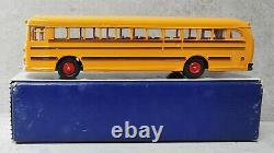 Dinky Toys 949 Wayne School Bus Rare Black Lignes Près De La Menthe Boxed