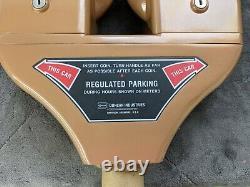 Duncan Double Parking Meter Vintage Flambant Neuf Jamais En Service Avec Boîte D'origine