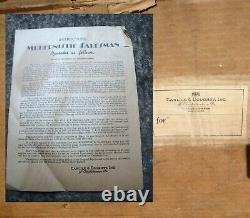 Écran De Batterie C & D Store Vintage Des Années 1930-1940 Avec Boîte Originale & Paperasserie