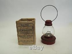 Embury Suprême Lanterns No. 100 Pile Electric Light Etui Original