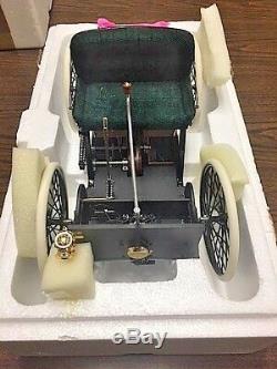Franklin Mint 1896 Ford Quadricycle Réplique Avec Le Cas Dans Les Boîtes D'origine