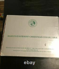 Franklin Mint Harley Davidson Christmas Electra Glide 1999 Avec Boîte Originale