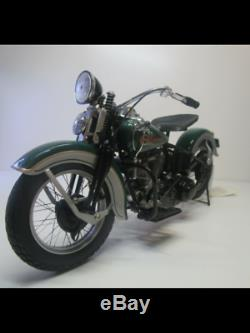 Frankln Mint 1936 Knucklehead Harley-davidson Venez Est Dans La Boîte D'origine