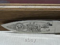 Harley Davidson #99412-96v Buck Knife V-twin Panhead #2391 Avec Boîte Originale +