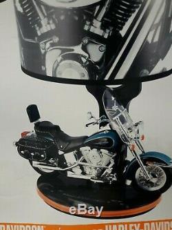 Harley Davidson Nouveau, En Original Box Lampe De Table, Lumière De Nuit, Son Patrimoine