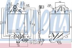 Intercooler Air Cooler Pour Ford Transit Box 2.5 DI