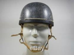 Johnson Vintage 1960 Herbert Demi-casque Taille L Avec La Boîte Originale Rare