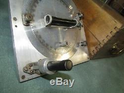 Kell Strom Hélice Universal Clinometer Protractor Titre Original Coffret