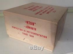 L'original Brunton Pocket Transit F2001 En Quadrants (amortissement) Original Box