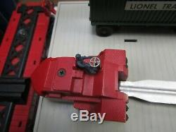 Lionel 460 Piggyback Transport Set Boxed 1957 Blanc Original Rubber Stamp