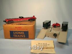 Lionel Exploitation # 460 Piggy Back Set Transport Avec La Boîte Originale