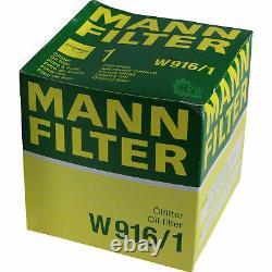 Liqui Moly 10 Litre 5w-30 Olio Motore + Mann Set Ford Transit Box V