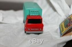 Matchbox Superfast # 44 Transitoire Camion Frigorifique Boîte Rare & Original