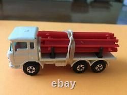 Matchbox Transitional Sf #58 Daf Girder Truck Rare White Original G Box Lot 24