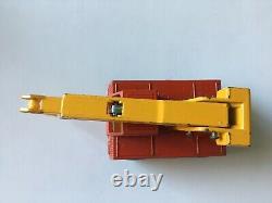 Matchbox Transitional Superfast #42 Iron Fairy Crane Rare Original G Box Lot 93