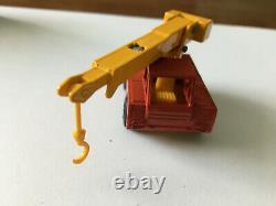 Matchbox Transitional Superfast #42 Iron Fairy Crane Red Original G Box Lot 34