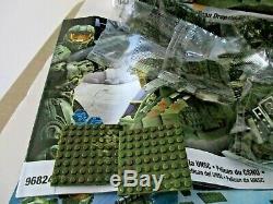 Mega Bloks Halo Unsc Pelican Dropship 96824 Boîte D'origine, Avec Des Sacs Scellés Manuel