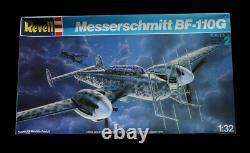 Messerschmitt Bf-110g Originale Box Top Modèles Revell Art Studio Box Peinture