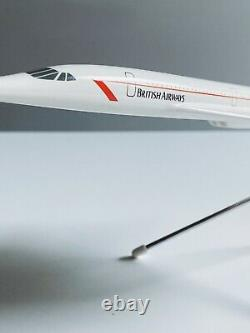 Modèles De L'espace British Airways Concorde 1980 Boîte Originale & Schabak Concorde Rare