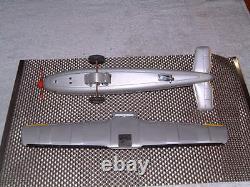 Momoya Friction Patrol Plane Tin Vintage Plane. Entièrement Opérationnel Avecoriginal Box