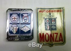 Monza Autodromo Grill Badge Encore Rare Dans La Boîte Originale