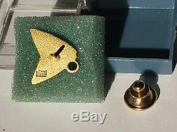 Mpt Million Miles Flight Attendant Or 10k Rempli Pin L. Originale G. Balfour Boîte