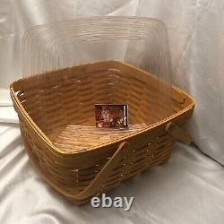 New Retraité Longaberger 1999 Hôtes Homecoming Basket Combo With LID