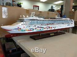 Norwegian Star Paquebot Ship Modèle 40 Original Box- Livraison Gratuite
