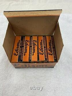 Nos 9 Plugs À Spark Isolés Edison Albanite Vintage Dans Les Boîtes Originales 1 Auburn