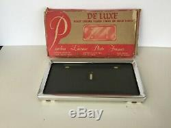 Nos Peerless License Plate Deluxe Cadre Dans La Boîte Originale, Nice Item
