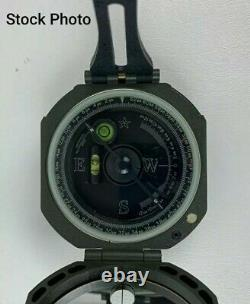 Nouveau Dans La Boîte Véritable Militaire Brunton M2 Transit Pocket Artillary Compass