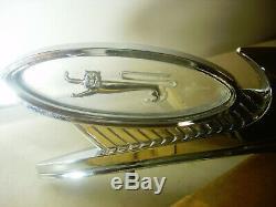 Oem Ford 1960 + Chrome Ornement De Capot De Voiture Nos / Avec La Boîte Originale # Coab16851a
